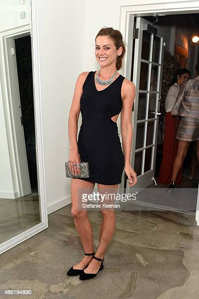 Jessica Stroup attends The A List 15th Anniversary Party on September 1 2015 in Beverly Hills California