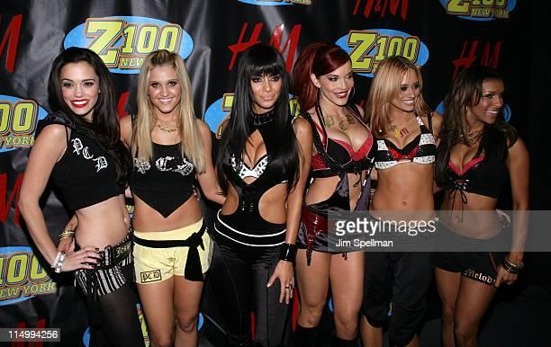 Jessica Sutta Ashley Roberts Nicole Scherzinger Carmit Bachar Kimberly Wyatt and Melody Thornton of The Pussycat Dolls