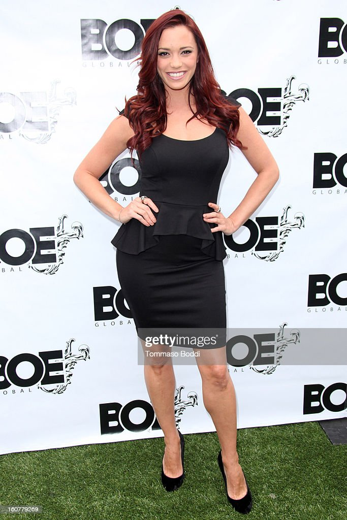 <a gi-track='captionPersonalityLinkClicked' href=/galleries/search?phrase=Jessica+Sutta&family=editorial&specificpeople=688044 ng-click='$event.stopPropagation()'>Jessica Sutta</a> attends the 1st Annual Grammy Producers Brunch honoring Rodney Jerkins held at Xen Lounge on February 5, 2013 in Los Angeles, California.