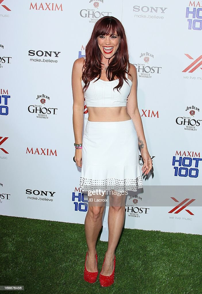 Jessica Sutta attends the Maxim 2013 Hot 100 party held at Create on May 15, 2013 in Hollywood, California.