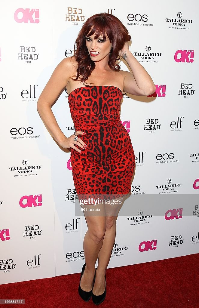 Jessica Sutta attends the OK! Magazine's 'So Sexy' party at Mondrian Los Angeles on April 17, 2013 in West Hollywood, California.