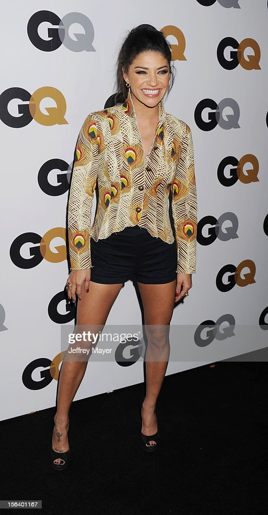Jessica Szohr arrives at the GQ Men Of The Year Party at Chateau Marmont Hotel on November 13, 2012 in Los Angeles, California.