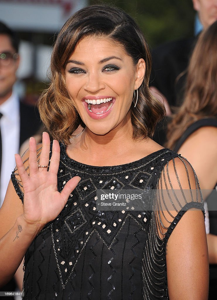 Jessica Szohr arrives at 'The Internship' - Los Angeles Premiere at Regency Village Theatre on May 29, 2013 in Westwood, California.