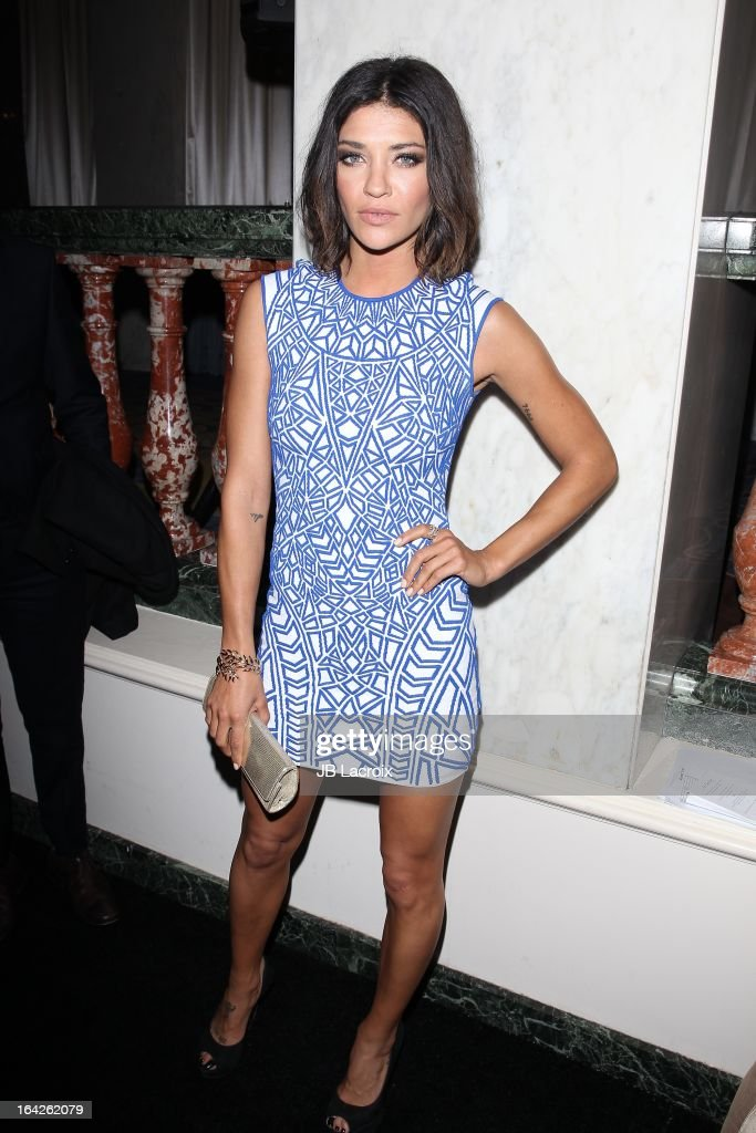 Jessica Szohr attends 'An Evening' benefiting The L.A. Gay & Lesbian Center at the Beverly Wilshire Four Seasons Hotel on March 21, 2013 in Beverly Hills, California.
