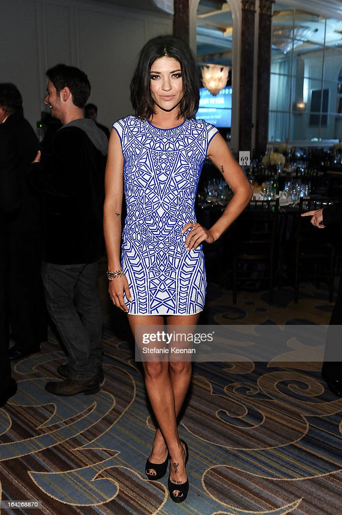 Jessica Szohr attends An Evening Benefiting The L.A. Gay & Lesbian Center Honoring Amy Pascal and Ralph Rucci on March 21, 2013 in Beverly Hills, California.
