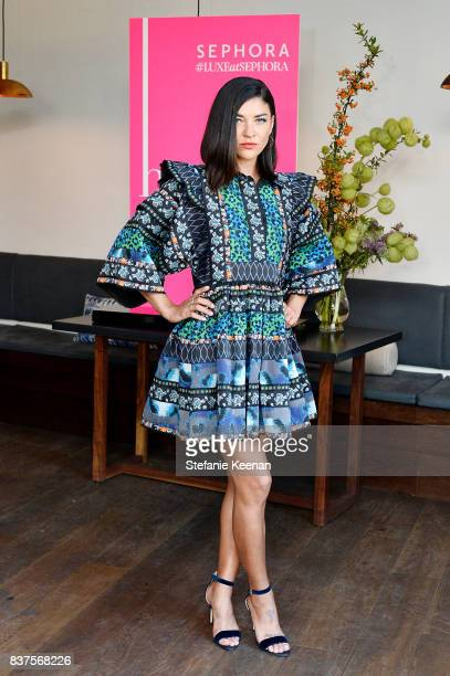 Jessica Szohr attends Nina Dobrev celebrates the harper by Harper's BAZAAR September Issue with an Event Presented By Sephora In LA at Rosaline on...