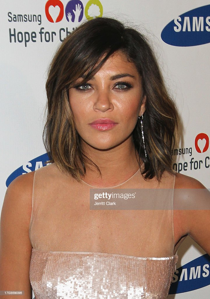 <a gi-track='captionPersonalityLinkClicked' href=/galleries/search?phrase=Jessica+Szohr&family=editorial&specificpeople=4503387 ng-click='$event.stopPropagation()'>Jessica Szohr</a> attends Samsung Hope For Children 12th Annual Gala at Cipriani Wall Street on June 11, 2013 in New York City.