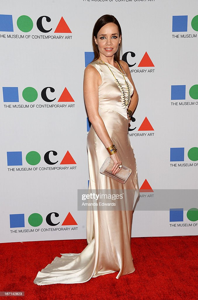 Jessica Trent arrives at the 'Yesssss!' 2013 MOCA Gala, celebrating the opening of the exhibition Urs Fischer at MOCA Grand Avenue on April 20, 2013 in Los Angeles, California.