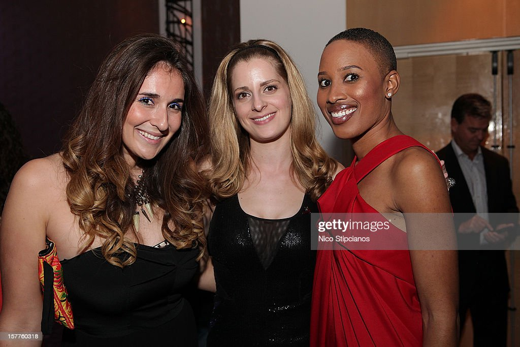 Jessica Wadeinc, (R) Nathalie Cadet-James at The Perry on December 5, 2012 in Miami Beach, Florida.