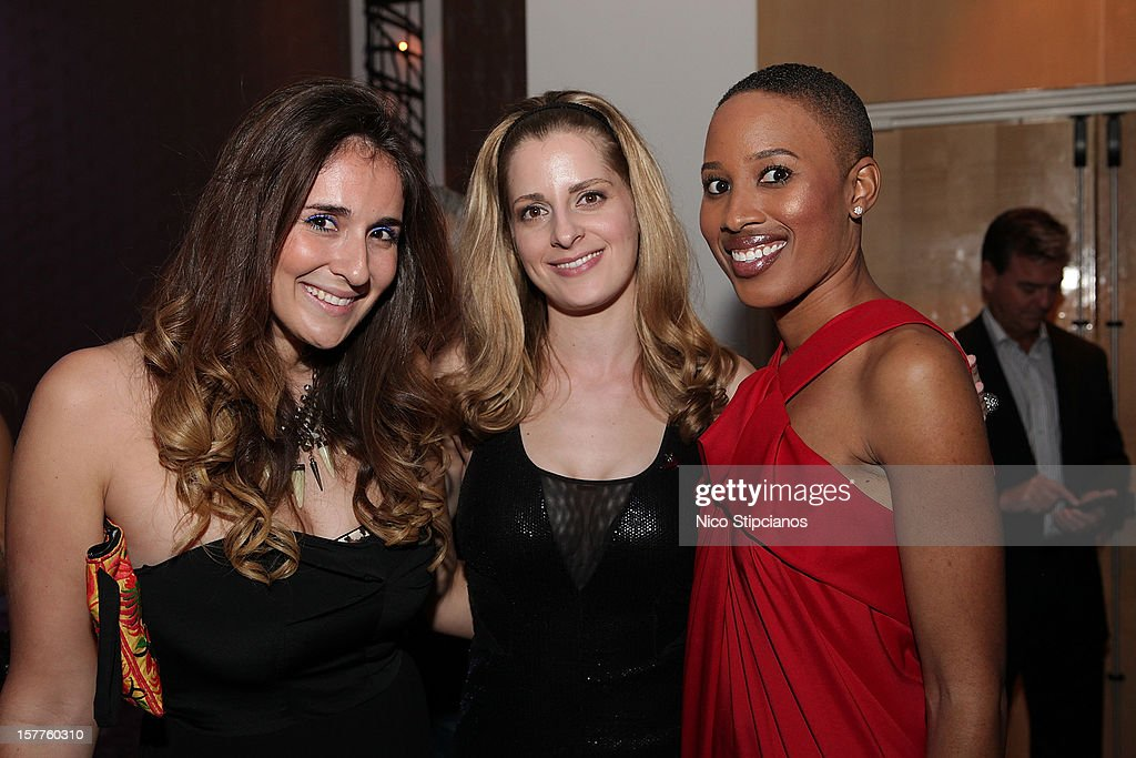 Jessica Wadeinc, (R) Nathalie Cadet-James, attends at The Perry on December 5, 2012 in Miami Beach, Florida.