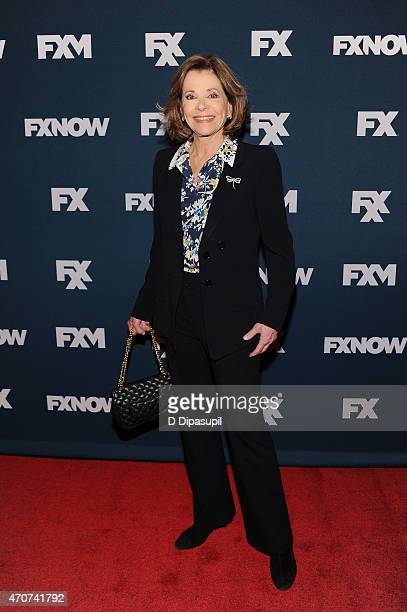 Jessica Walter attends the 2015 FX Bowling Party at Lucky Strike on April 22 2015 in New York City