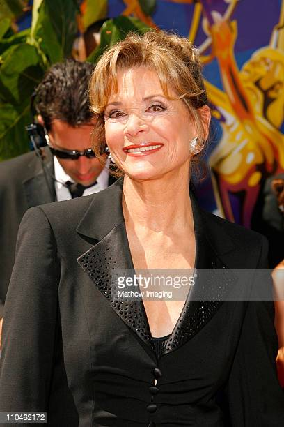 Jessica Walter during 58th Annual Primetime Emmy Awards Arrivals at Shrine Auditorium in Los Angeles California United States