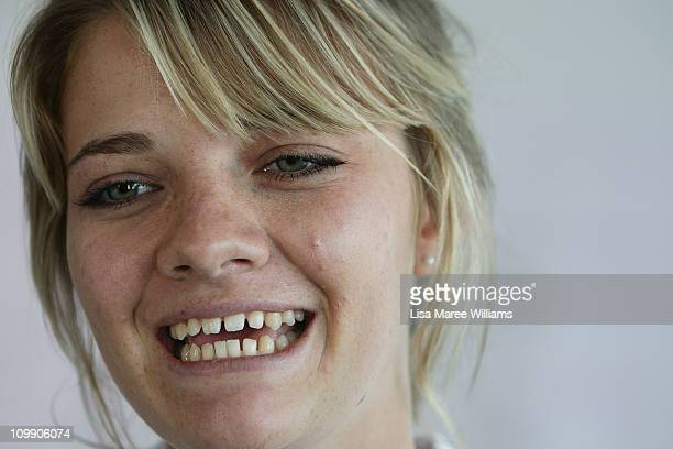 Jessica Watson attends a media conference to announce her next project which is to skipper the youngest ever crew in the 2011 Rolex Sydney Hobart...