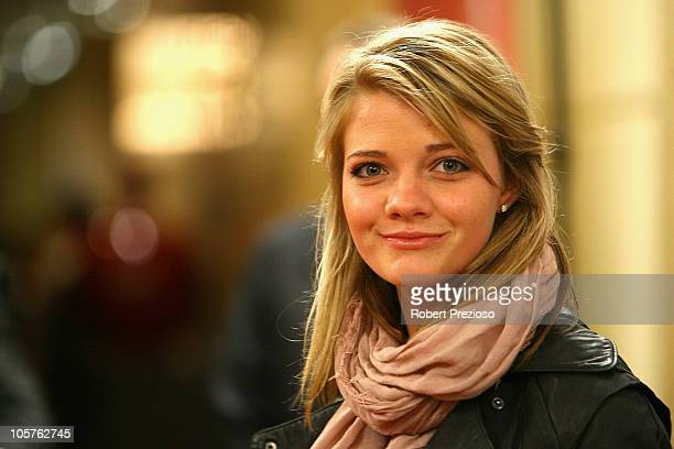Jessica Watson attends the Sport Australia Hall of Fame at Crown Casino on October 20 2010 in Melbourne Australia