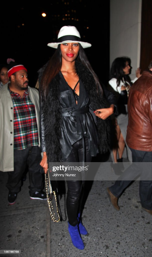 Jessica White attends Rihanna's 'Unapologetic' Record Release Party at 40 / 40 Club on November 20, 2012 in New York City.
