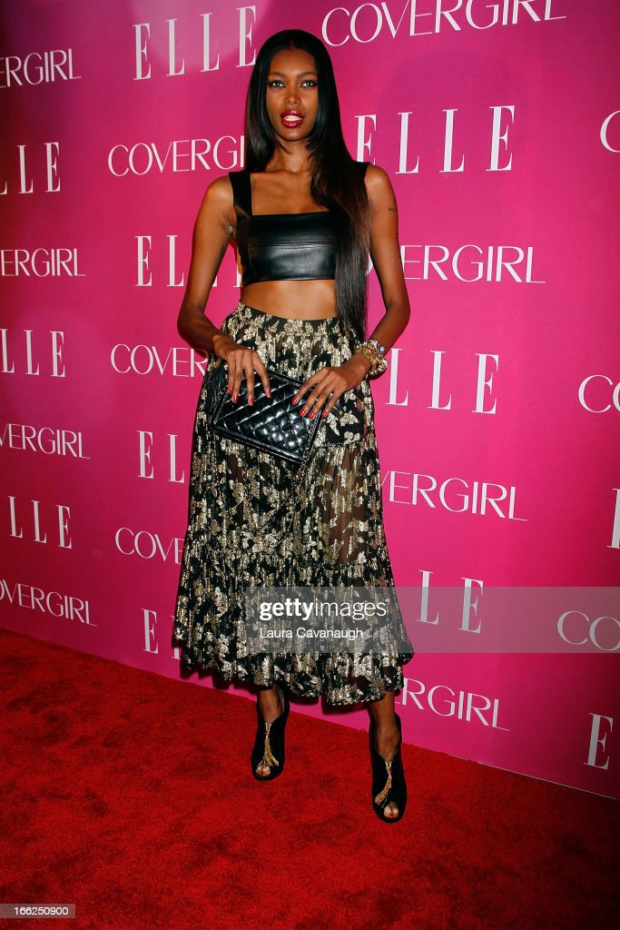 Jessica White attends the 4th annual ELLE Women in Music Celebration at The Edison Ballroom on April 10, 2013 in New York City.