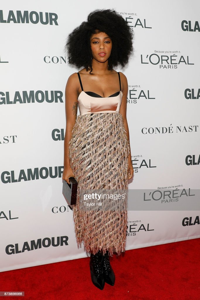 Jessica Williams attends the 2017 Glamour Women of the Year Awards at Kings Theatre on November 13, 2017 in New York City.