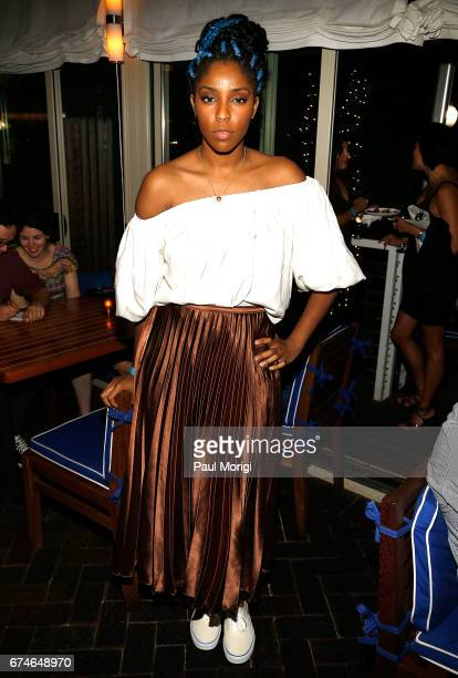 Jessica Williams attends the 'United Talent Agency Honors White House Correspondents' hosted by Jay Sures Dan Abrams at Fiola Mare on April 28 2017...