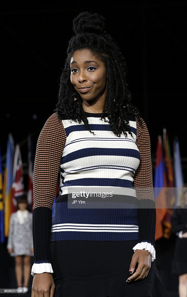 Jessica Williams walks the runway during the Opening Ceremony fashion show during New York Fashion Week at Jacob Javits Center on September 11, 2016 in New York City.