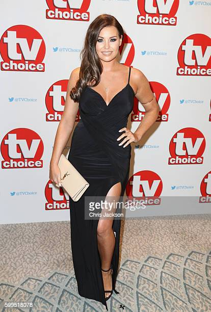 Jessica Wright arrives for the TV Choice Awards at The Dorchester on September 5 2016 in London England