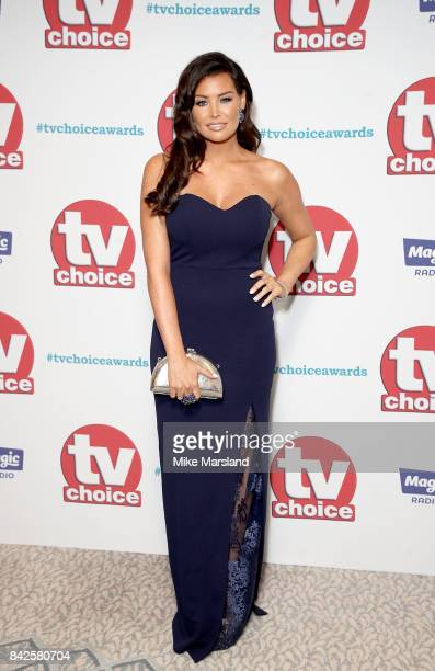 Jessica Wright arrives for the TV Choice Awards at The Dorchester on September 4 2017 in London England