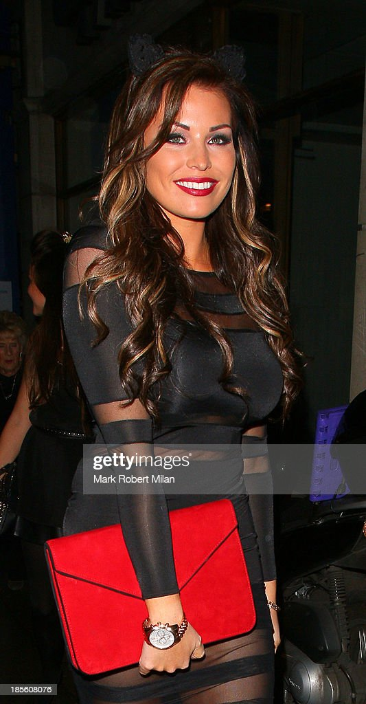Jessica Wright attending the Claire's Accessories party on October 22, 2013 in London, England.