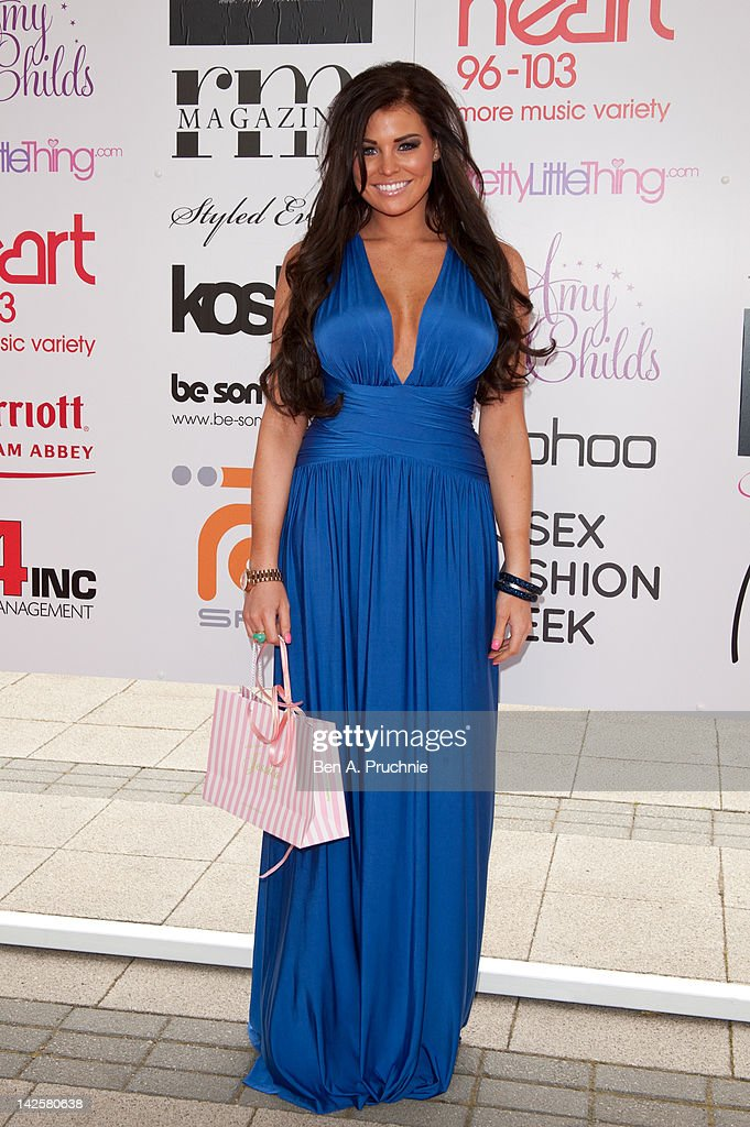 Jessica Wright attends Essex Fashion Week - Autumn/Winter 2012 at Ceme on April 8, 2012 in Rainham, Greater London.