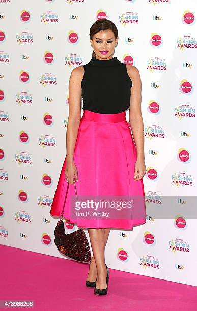Jessica Wright attends Lorraine's High Street Fashion Awards at Grand Connaught Rooms on May 19 2015 in London England