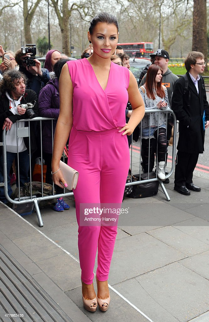 Jessica Wright attends the 2014 TRIC Awards at The Grosvenor House Hotel on March 11, 2014 in London, England.