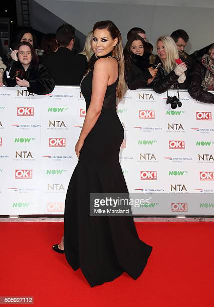 Jessica Wright attends the 21st National Television Awards at The O2 Arena on January 20 2016 in London England