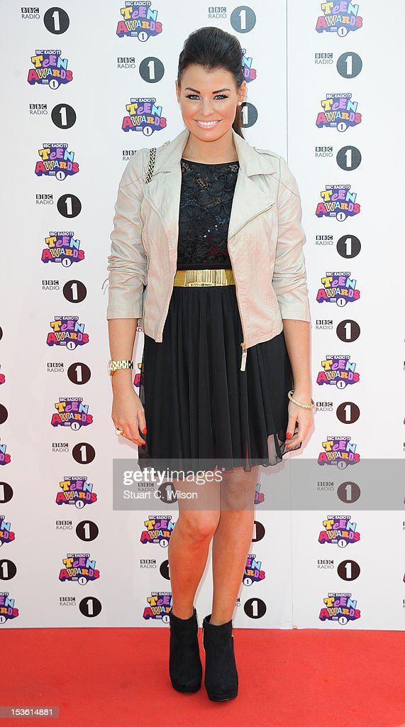 Jessica Wright attends the BBC Radio 1 Teen Awards on October 7, 2012 in London, England.