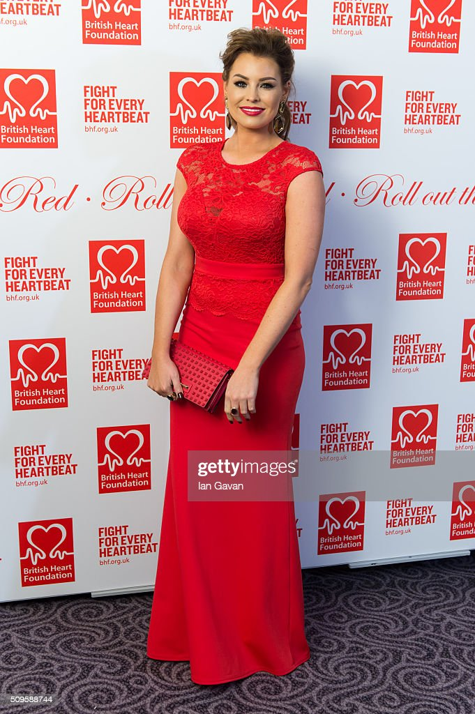<a gi-track='captionPersonalityLinkClicked' href=/galleries/search?phrase=Jessica+Wright+-+Television+Personality&family=editorial&specificpeople=11250090 ng-click='$event.stopPropagation()'>Jessica Wright</a> attends the British Heart Foundation: Roll Out The Red Ball at The Savoy Hotel on February 11, 2016 in London, England.