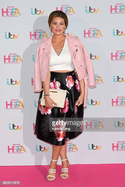 Jessica Wright attends the Lorraine's High Street Fashion Awards at Grand Connaught Rooms on May 17 2016 in London England