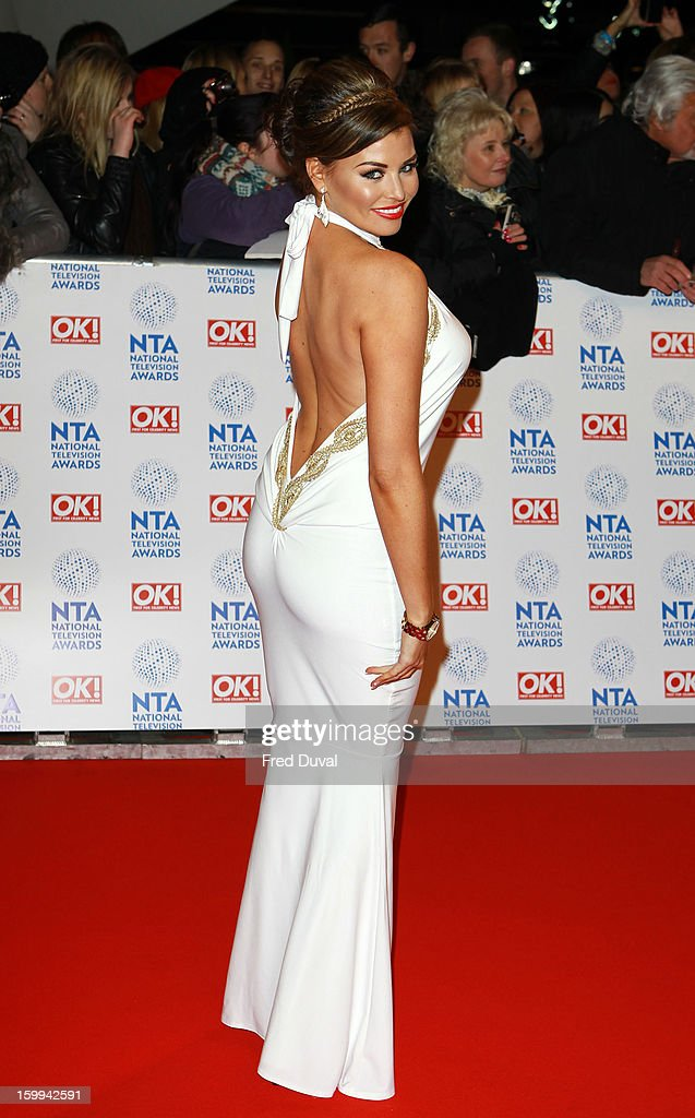 Jessica Wright attends the National Television Awards at 02 Arena on January 23, 2013 in London, England.