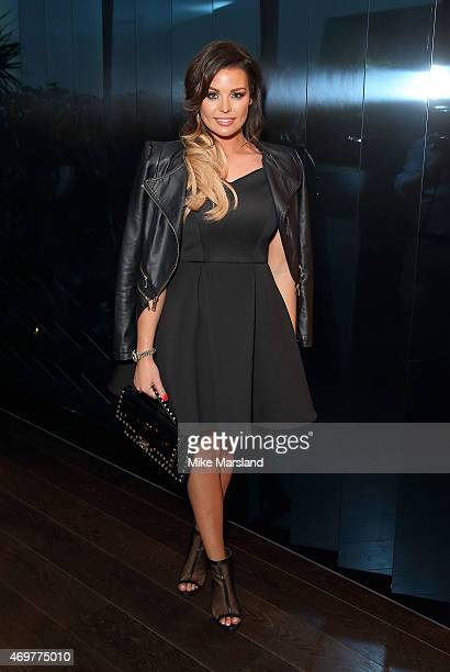 Jessica Wright attends the New Look Men's party at Mondrian Hotel on April 14 2015 in London England