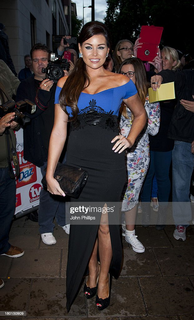 Jessica Wright attends the TV Choice Awards 2013 at The Dorchester on September 9, 2013 in London, England.