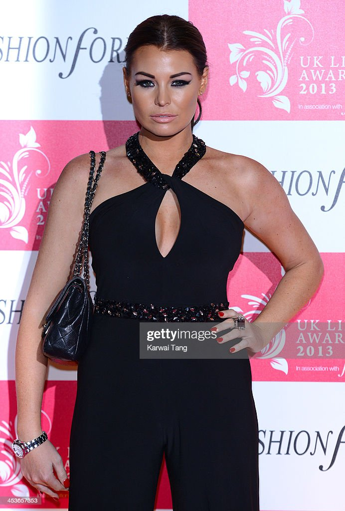Jessica Wright attends the UK Lingerie Awards held at the Freemasons Hall on December 4, 2013 in London, England.