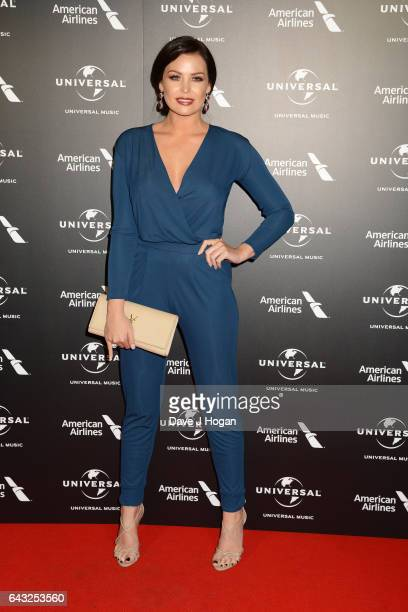 Jessica Wright attends the Universal Music preBRIT Award party at One Embankment on February 20 2017 in London England