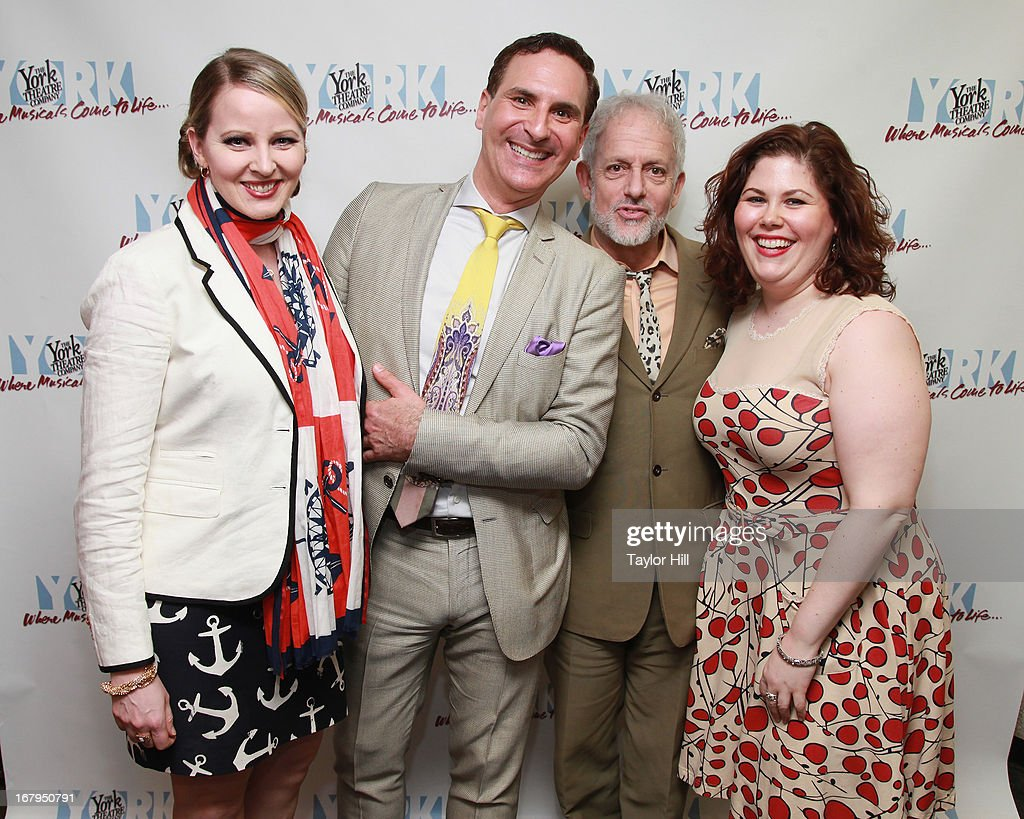Jessica Wright, Mark Nadler, David Schweizer, and Franca Vercelloni attend the 'I'm A Stranger Here Myself' Off Broadway Opening Night at The York Theatre at Saint Peter's on May 2, 2013 in New York City.