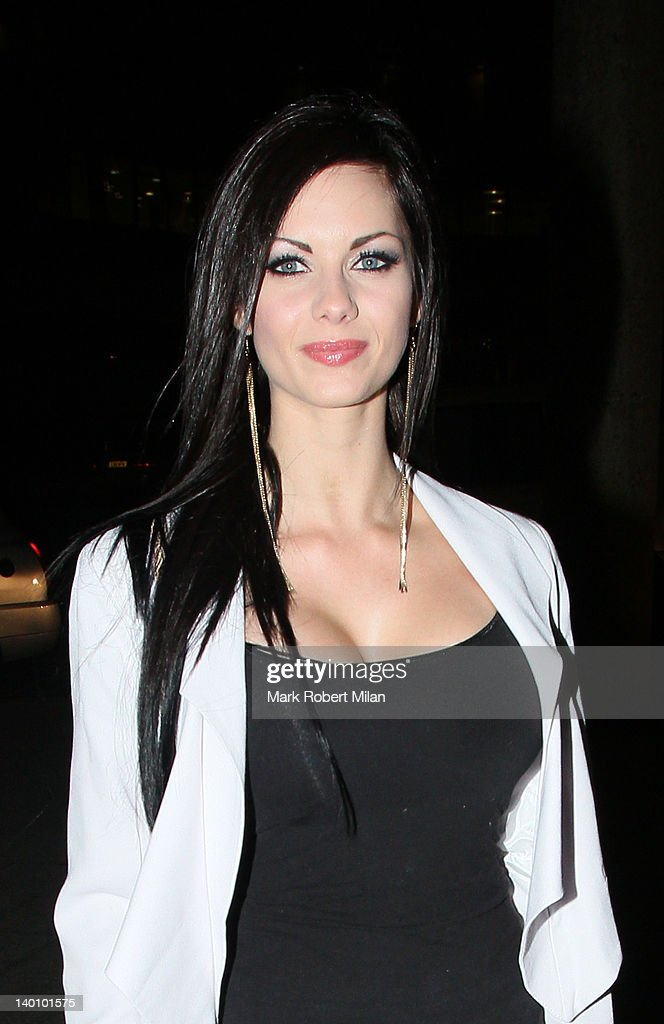 <a gi-track='captionPersonalityLinkClicked' href=/galleries/search?phrase=Jessica-Jane+Clement&family=editorial&specificpeople=4695040 ng-click='$event.stopPropagation()'>Jessica-Jane Clement</a> seen attending the Hair Awards 2012 at the Sky Bar, Millbank Tower on February 27, 2012 in London, England.
