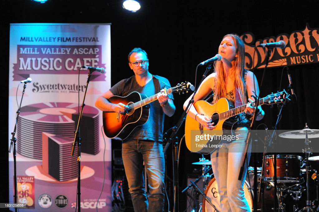 Jessie Bridges performs at the 2nd Annual Mill Valley ASCAP Music Cafe - Day 1 at Sweetwater Music Hall & Cafe on October 4, 2013 in Mill Valley, California.