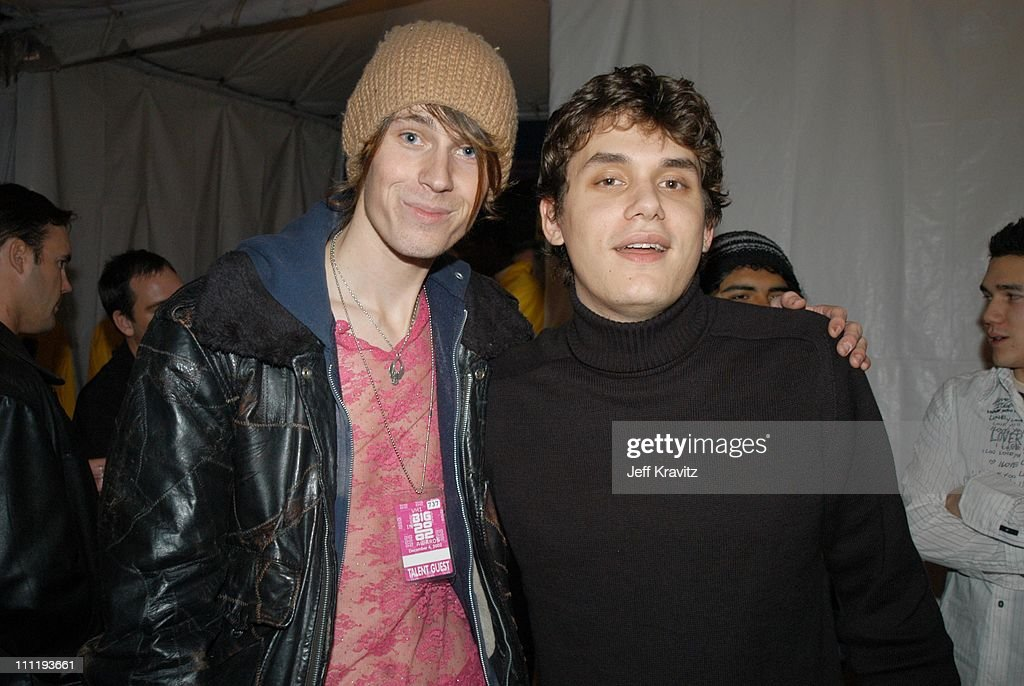 Jessie Camp and John Mayer during VH1 Big in 2002 Awards - After Party at Grand Olympic Auditorium in Los Angeles, CA, United States.