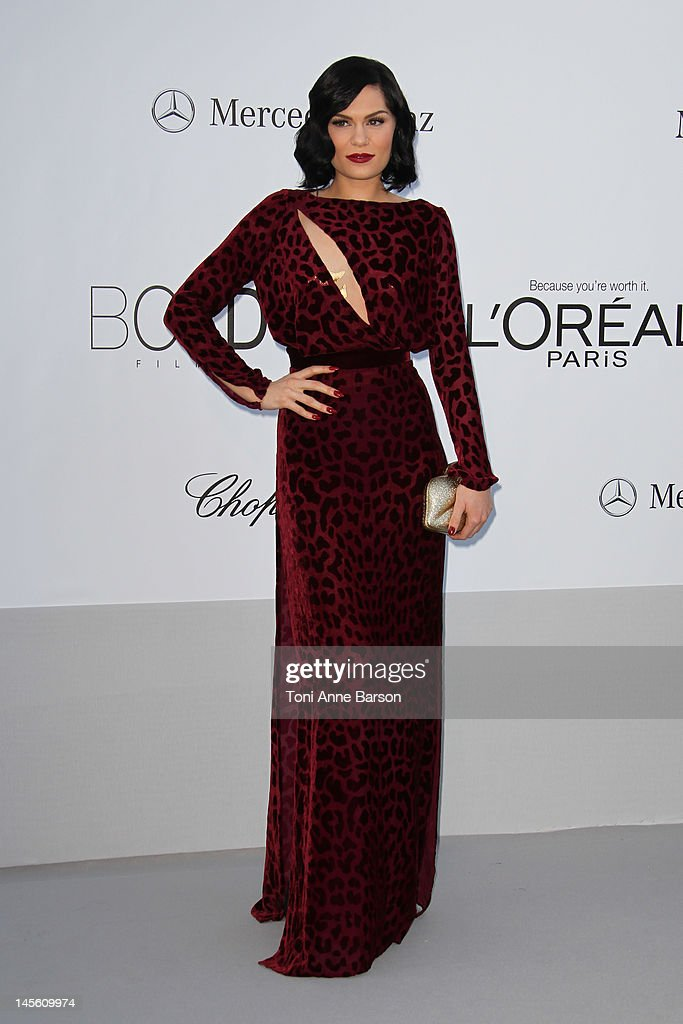 <a gi-track='captionPersonalityLinkClicked' href=/galleries/search?phrase=Jessie+J&family=editorial&specificpeople=5737661 ng-click='$event.stopPropagation()'>Jessie J</a> arrives at amfAR's Cinema Against AIDS at Hotel Du Cap on May 24, 2012 in Antibes, France.