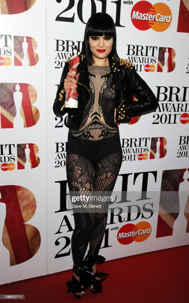 <a gi-track='captionPersonalityLinkClicked' href=/galleries/search?phrase=Jessie+J&family=editorial&specificpeople=5737661 ng-click='$event.stopPropagation()'>Jessie J</a> arrives at The BRIT Awards 2011 nominations announcement at indigO2 on January 13, 2011 in London, England.