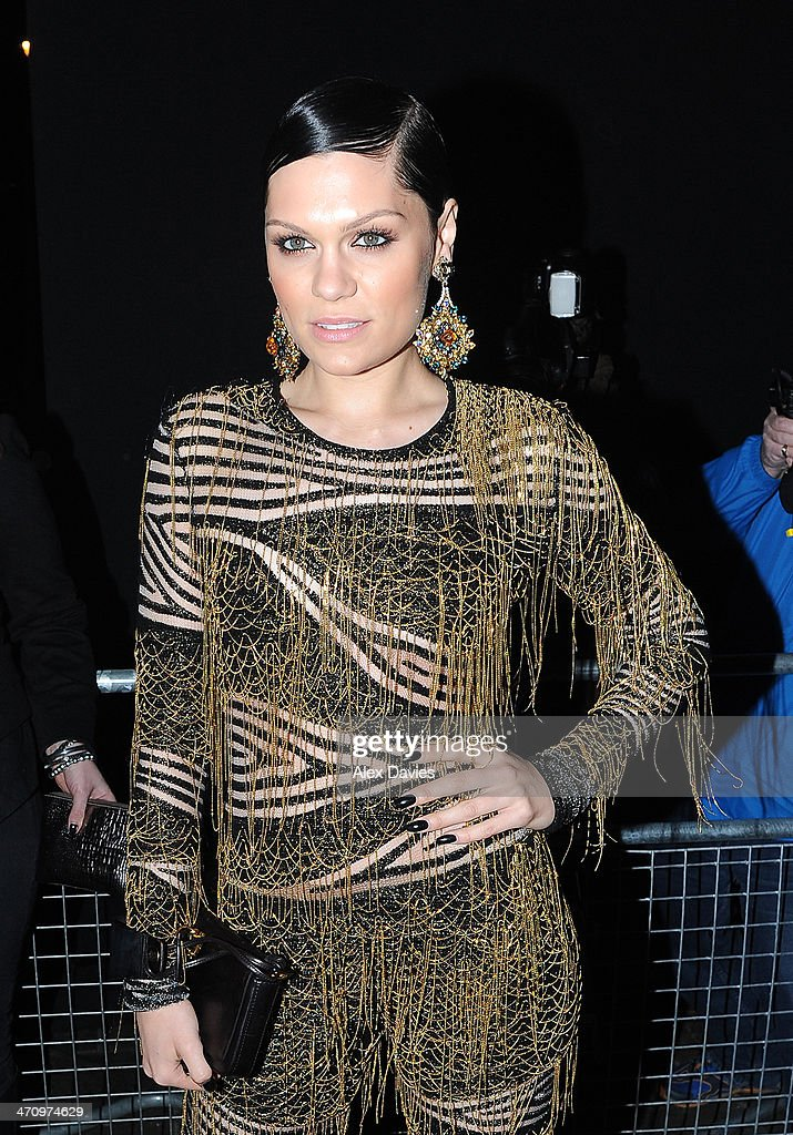 <a gi-track='captionPersonalityLinkClicked' href=/galleries/search?phrase=Jessie+J&family=editorial&specificpeople=5737661 ng-click='$event.stopPropagation()'>Jessie J</a> arriving at universal brits after party on February 19, 2014 in London, England.