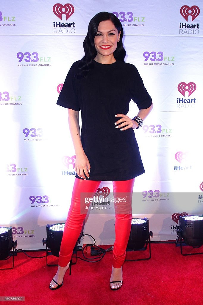 Jessie J attends 93.3 FLZ's Jingle Ball 2014 at Amalie Arena on December 22, 2014 in Tampa, Florida.