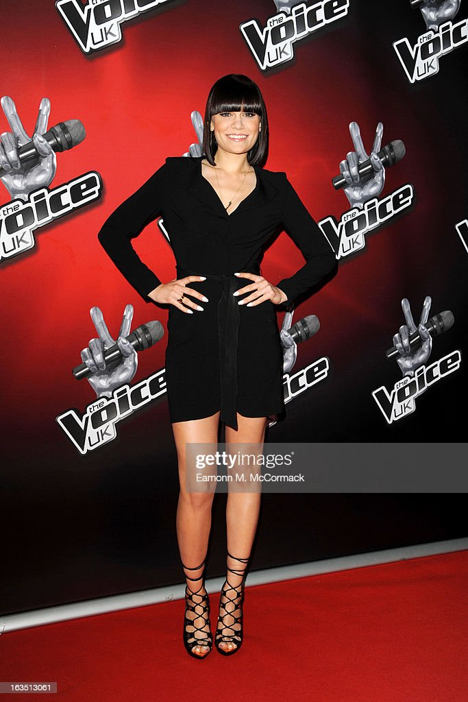 <a gi-track='captionPersonalityLinkClicked' href=/galleries/search?phrase=Jessie+J&family=editorial&specificpeople=5737661 ng-click='$event.stopPropagation()'>Jessie J</a> attends a photocall to launch the second series of The Voice at Soho Hotel on March 11, 2013 in London, England.
