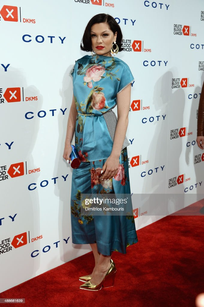 <a gi-track='captionPersonalityLinkClicked' href=/galleries/search?phrase=Jessie+J&family=editorial&specificpeople=5737661 ng-click='$event.stopPropagation()'>Jessie J</a> attends the 2014 Delete Blood Cancer Gala Honoring Evan Sohn and the Sohn Conference Foundation at Cipriani Wall Street on May 7, 2014 in New York City.