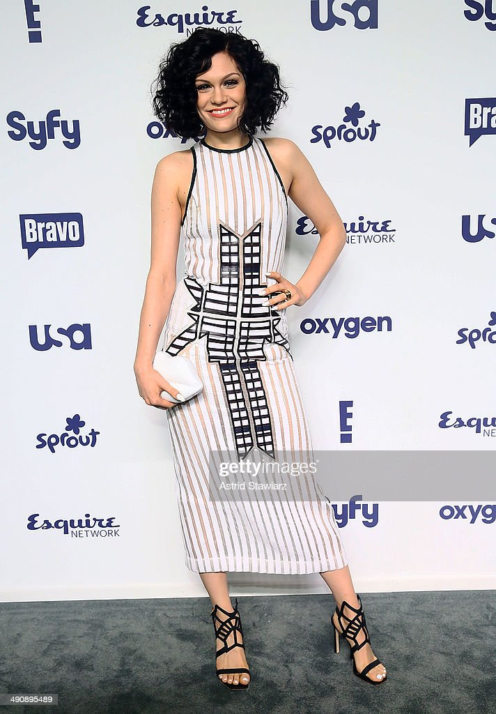 Jessie J attends the 2014 NBCUniversal Cable Entertainment Upfronts at The Jacob K. Javits Convention Center on May 15, 2014 in New York City.