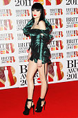 Jessie J attends The Brit Awards 2011 held at The O2 Arena on February 15 2011 in London England